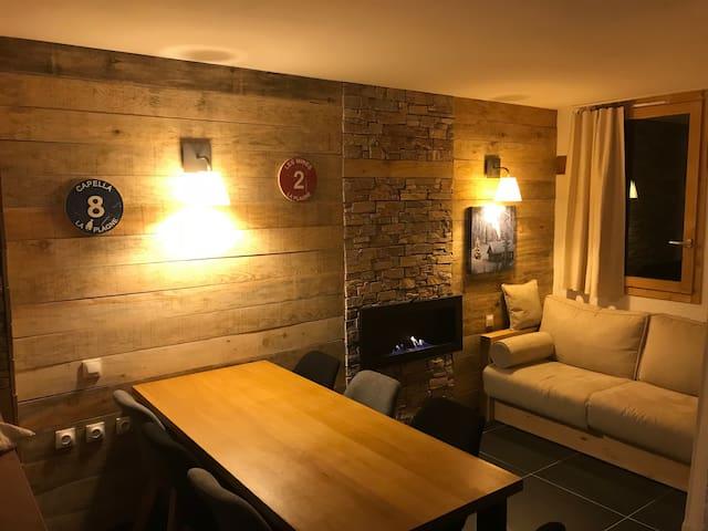 Magnifique appartement à La Plagne