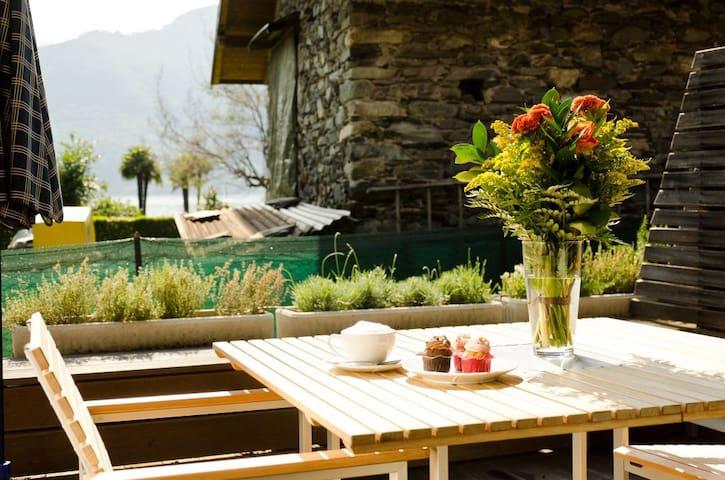 Casa Sabina H - Ferienwohnung am Lago Maggiore