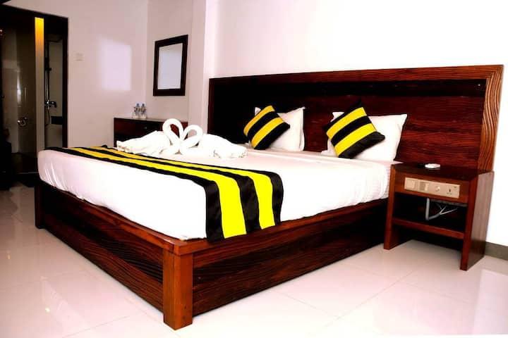 Deluxe Double Room at Happy Banana  Unawatuna Sri Lanka