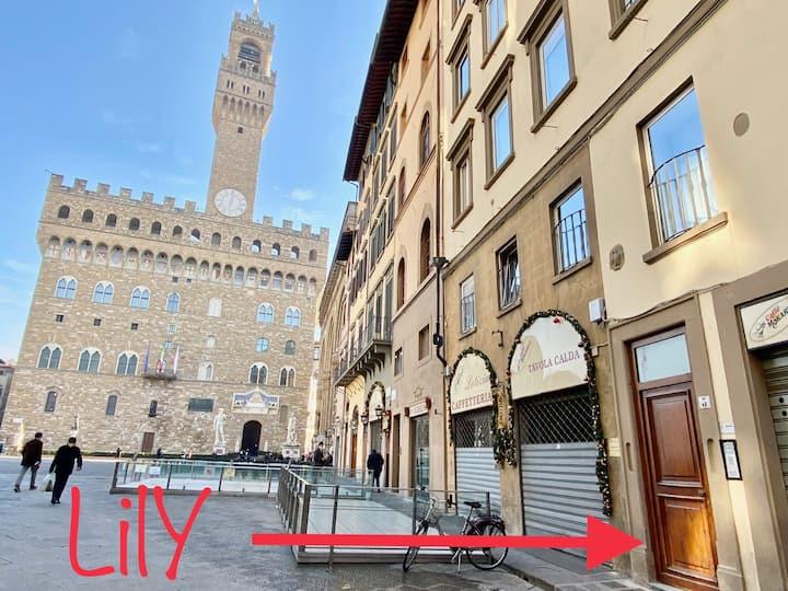 LILY APARTMENT, Piazza della Signoria