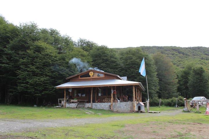Habitacion Triple privada en Refugio Llanos