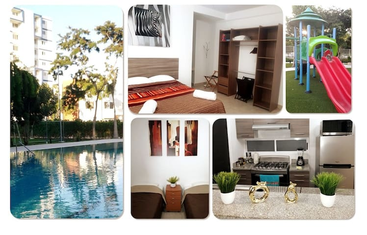 Enjoy full apartment in Gated Residential Cancun