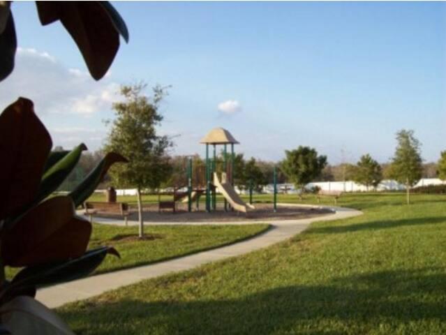 Highgate Park play area.