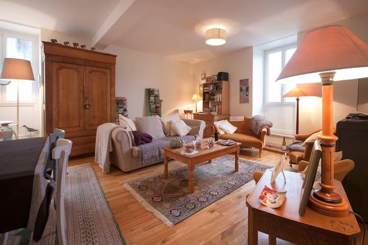 Chambre dble centre ville Morlaix - Morlaix - Apartment