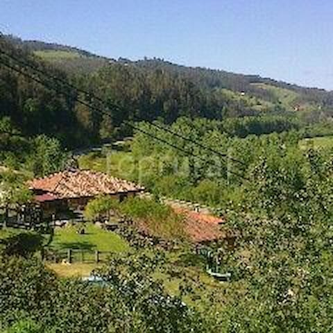 Apartamento rural con jardines bbc - Corias - Lägenhet