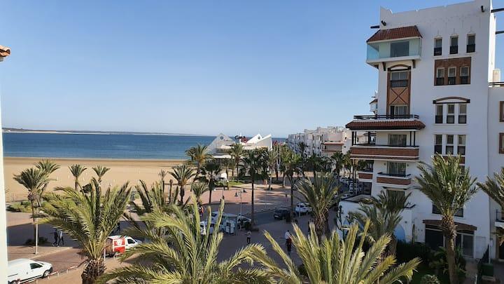 Soleil, confort et vue sur mer à la Marina Agadir