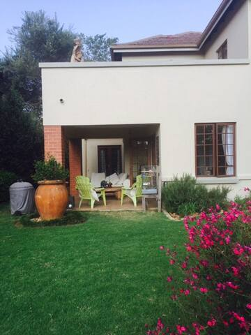 Country living in Sandton - self catering