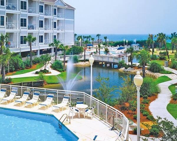 Ocean View Condo 2BR Timeshare Resort Myrtle Beach