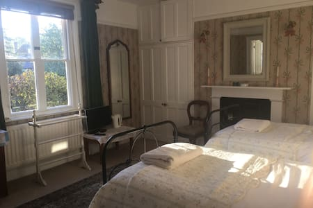 The sunny twin room