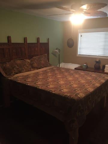 Master Bedroom in Olde Carlsbad Beach House