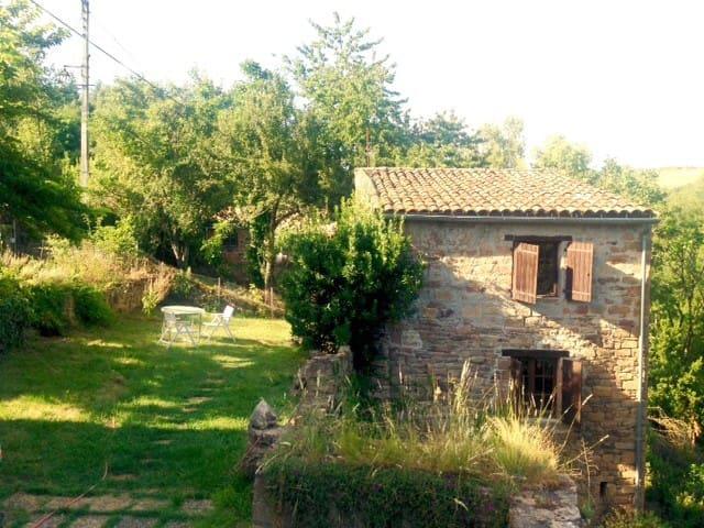 Petite maison avec jardin - Saint-Marcel-Campes - House