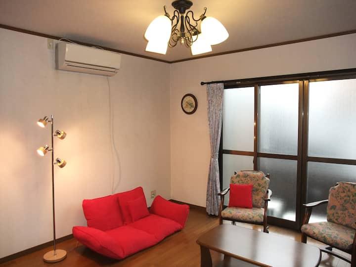 Dorm in Dazaifu U can stay friendly