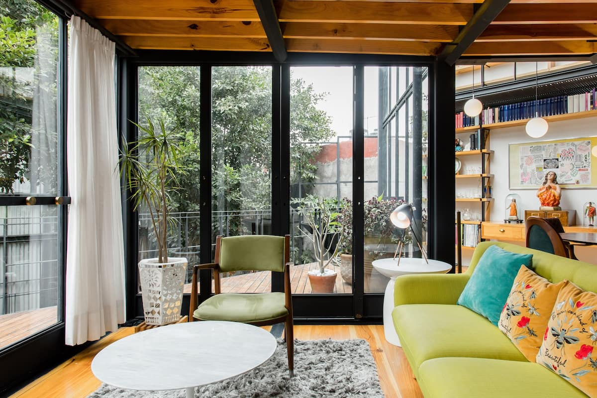Departamento privado, chic y con dos bellas terrazas. Se entrega desinfectado.