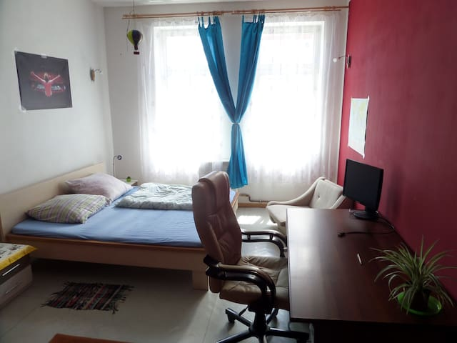 Cosy private room near central train/bus station