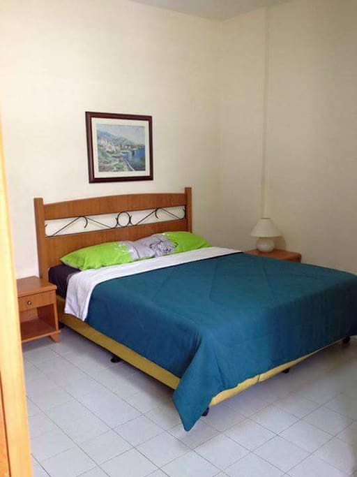 airconditioned room with ensuite bathroom