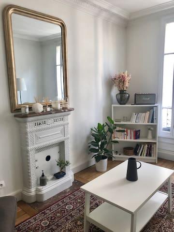 Charming Apartment Typically Parisian