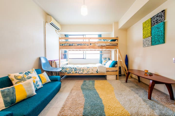 Free WiFi 2min Shinsakae-machi station 4people - Nagoya-shi,Higashi-ku - Apartment
