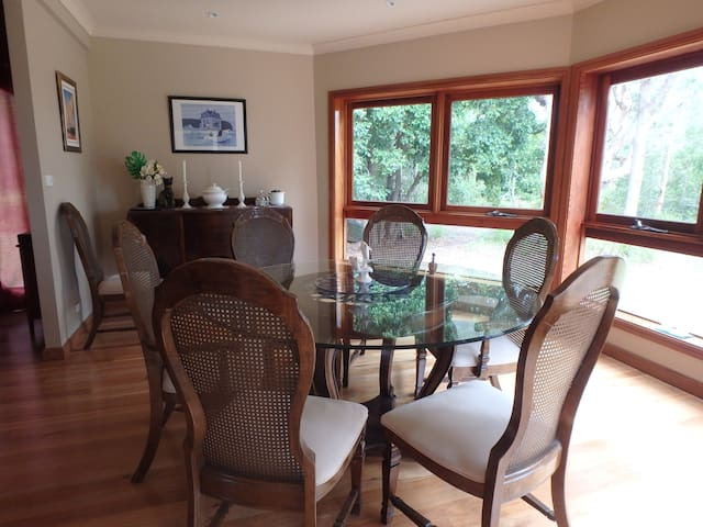 One of our dining areas for larger groups
