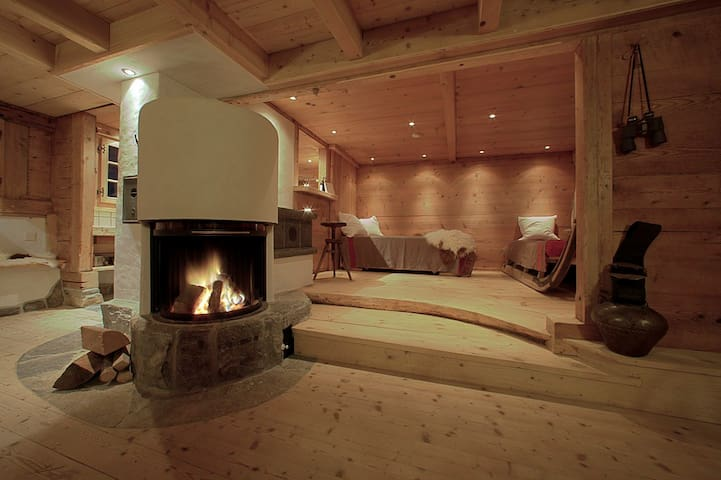 romantic Mountain Cabin, stunning view - Grindelwald - Bungalo