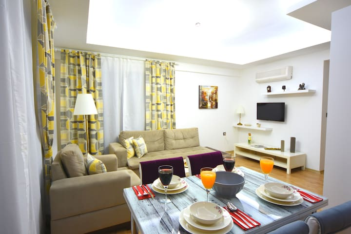 Likya Garden Residence -Deluxe 1 Bedroom Apartment