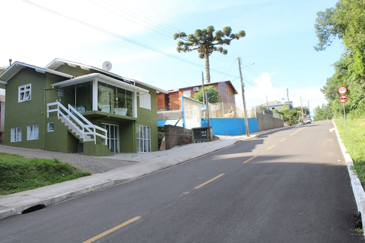 Loft simples e confortável em Gramado