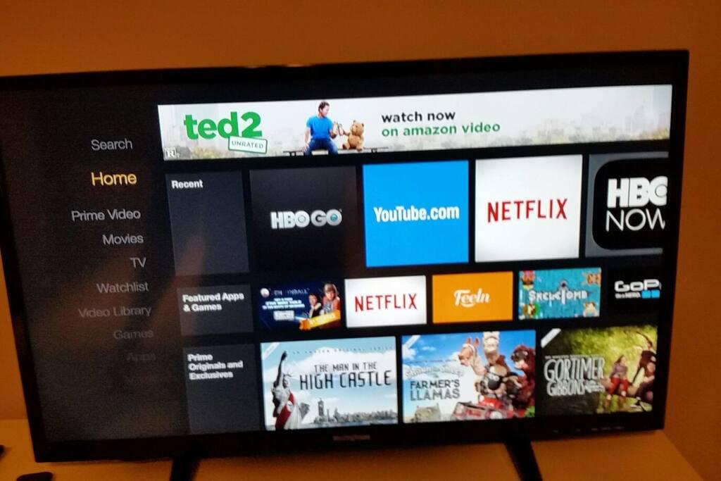 """32"""" TV with Amazon Stick"""