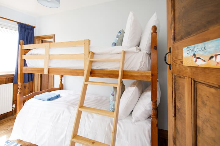 Children are going to love the bunk bedroom