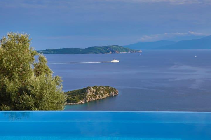 Villa Pegasus - Endless view on the Ionian sea - Sivota - Villa