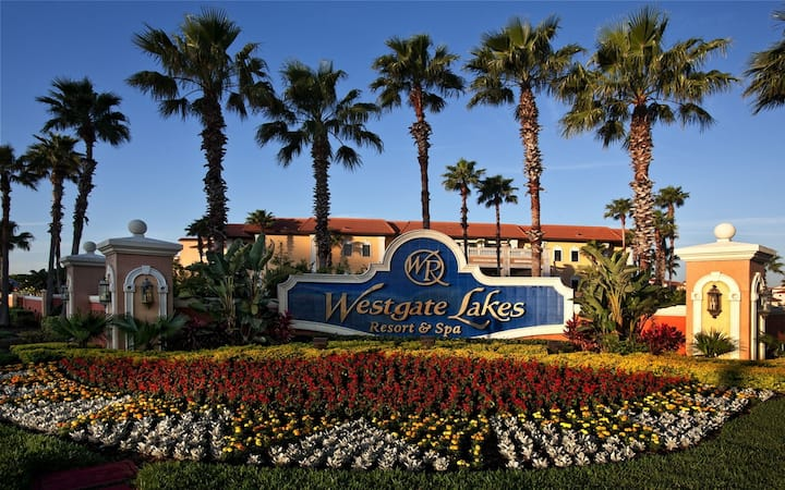 Entire 1 Bdrm Villa @ Westgate Lakes Resort & Spa