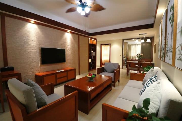 仙云居雨林温泉度假公寓(园景套房+红峡谷漂流门票4人)含4早