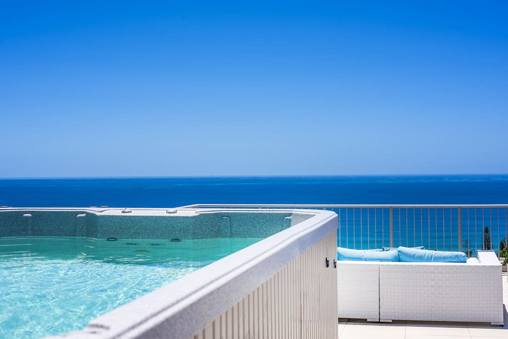 Cooling Plunge Pool