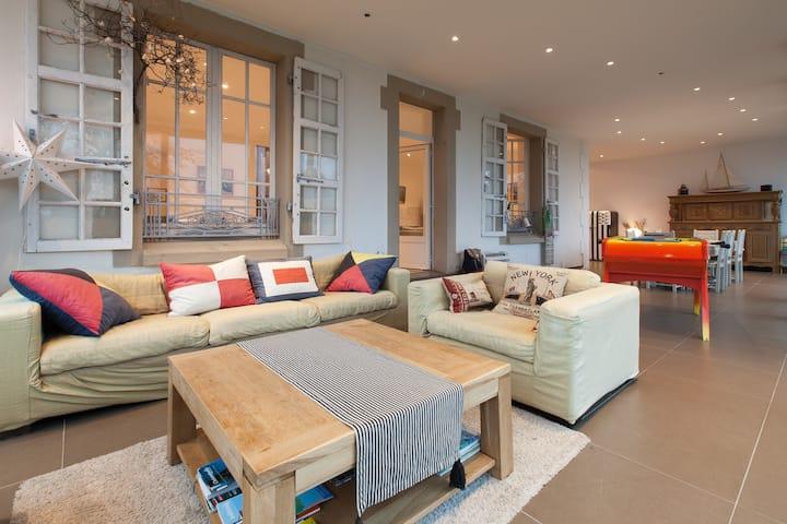 Grande maison confortable pour un séjour convivial