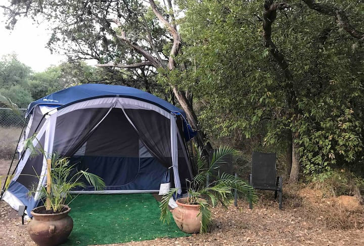Bed and Breakfast Glamping with a Haunting Twist