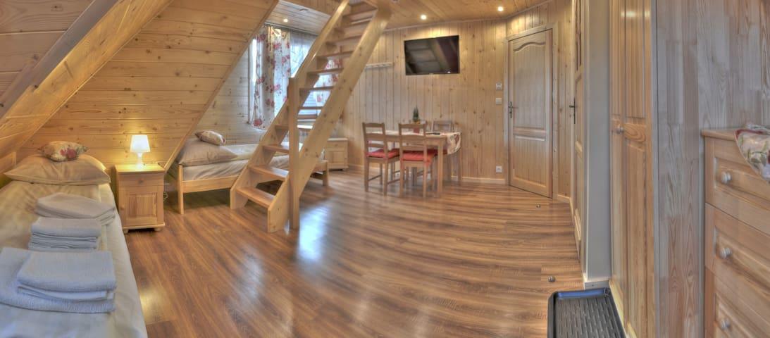 Apartament dwupoziomowy - Szaflary