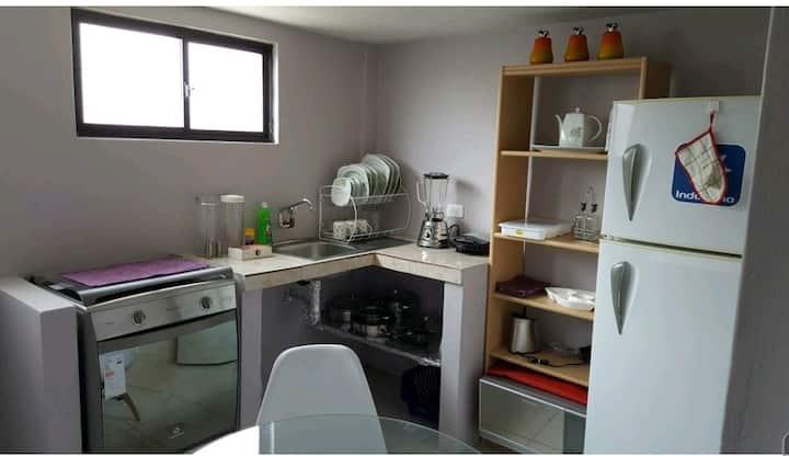 Suite/Loft amoblada y equipada | C01