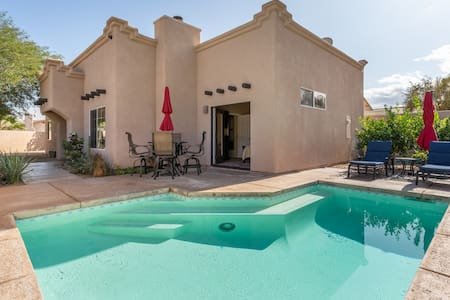 "Private ""Santa Fe"" Style House with Pool"
