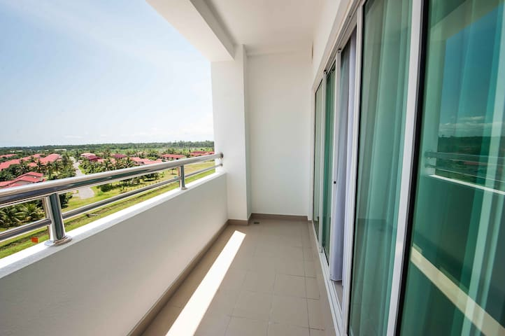 Balcony - Overseeing the Belait District