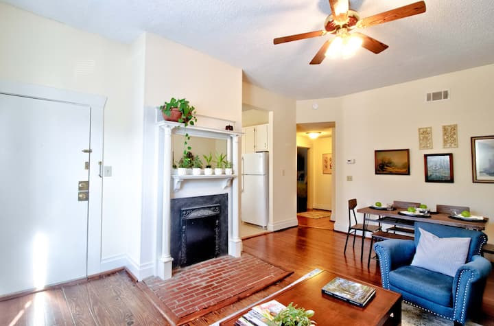 Historic Apt-Close to Downtown Aug & Medical Dist.