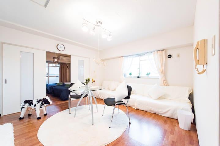 Center Tokyo★Shibuya area/Easy access/FreeWIFI#174 - Shinagawa-ku - Appartement