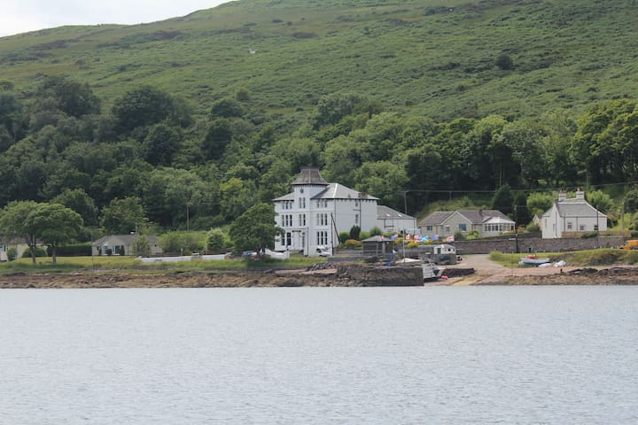 St Blanes House, Kilchattan Bay,  Isle of Bute, UK - Kilchattan Bay - House