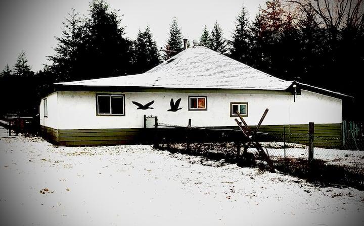 Historic Log Cabin on a Mountainside Farm, #2