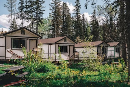 Mountain view cabins Golden Cabin H