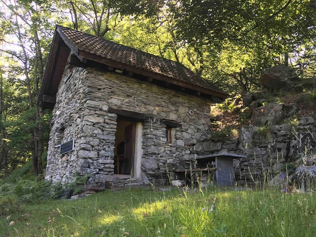 Casa Sophie auf der Alpe Soladino mit DU/WC