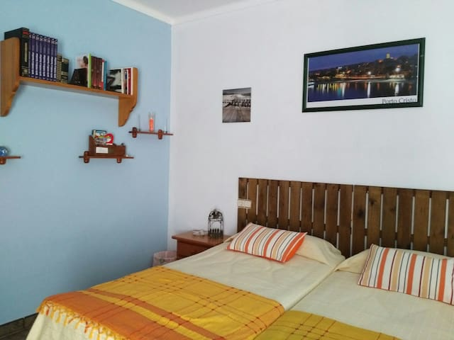 cozy double room with A / a - Porto Cristo - House