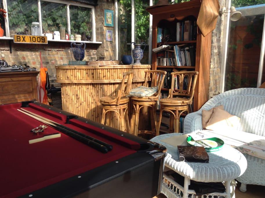 Pool in the summerhouse