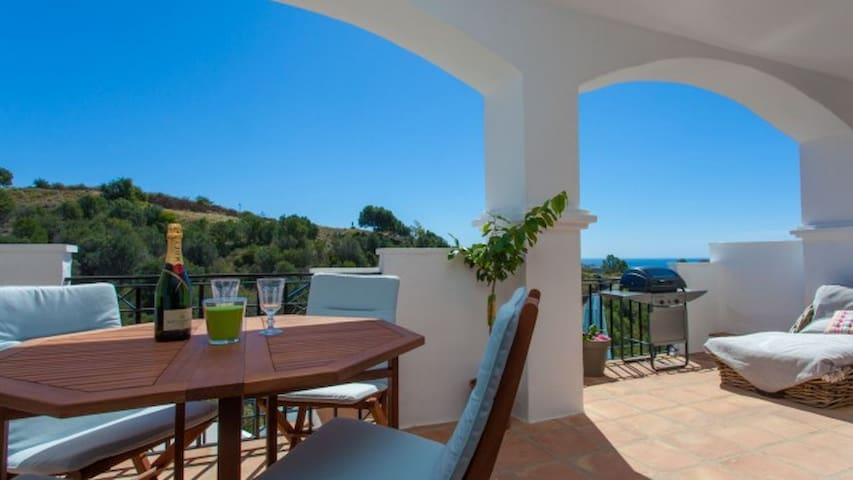 Gezellige flat in romantische Pueblo - Marbella
