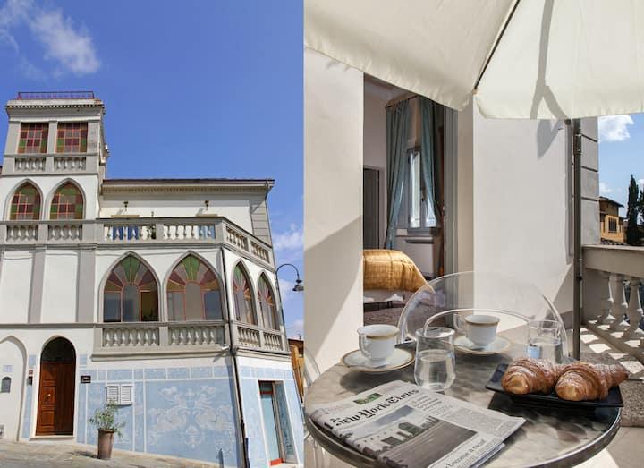 Suite in villa Garibaldi Red
