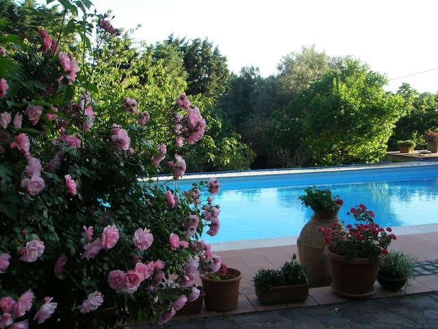 Comoda stanza con bagno in villa vicino a Roma - Formello - Casa de campo