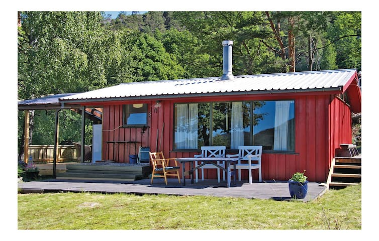 Holiday cottage with 2 bedrooms on 35 m² in Søndeled
