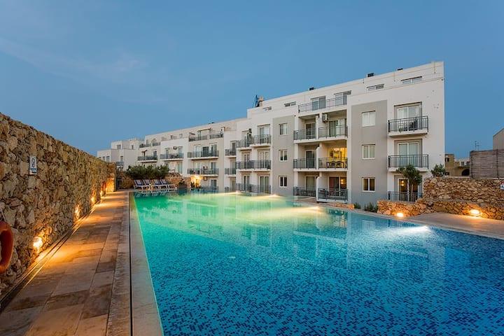 Hillock Residence Apartment - Marsalforn Gozo